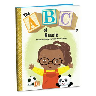 The ABC's of Me Personalized Book,