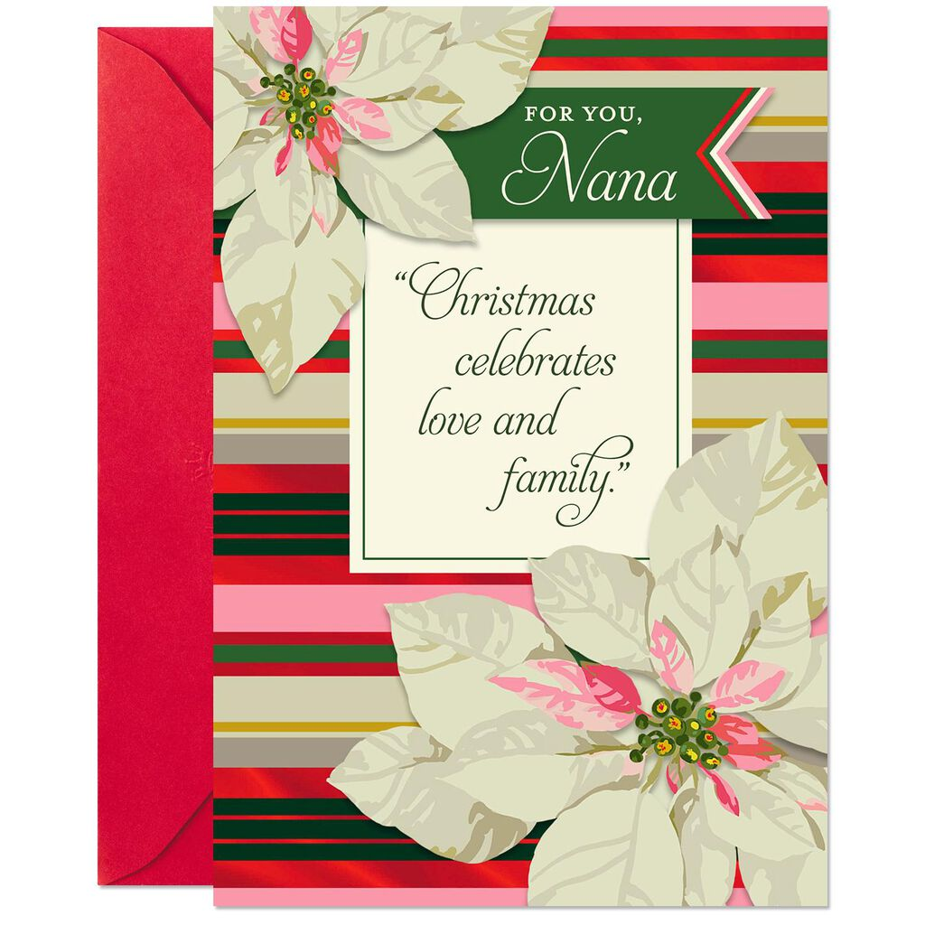Blessed To Have You Christmas Card For Nana Greeting Cards Hallmark