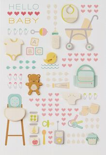 So Much Love New Baby Card,