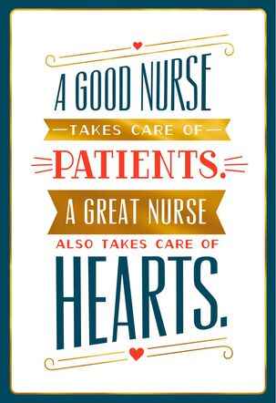Thanks for Being Great Nurses Day Card