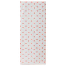 Shell Pink Polka Dot Tissue Paper, , large