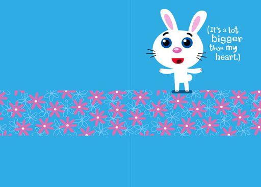Sassy Rabbit Thank You Card,