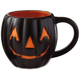 Jack-O'-Lantern Mug, 18 oz., , large