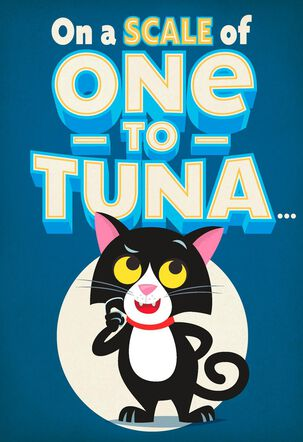 One to Tuna Funny Pop Up Father's Day Card