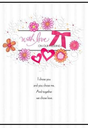 Together We Chose Love Card