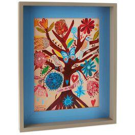 Live Life Tree Spanish Framed Art, , large