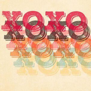 XOXO Musical Valentine's Day Card