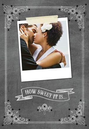 How Sweet It Is Wedding Card