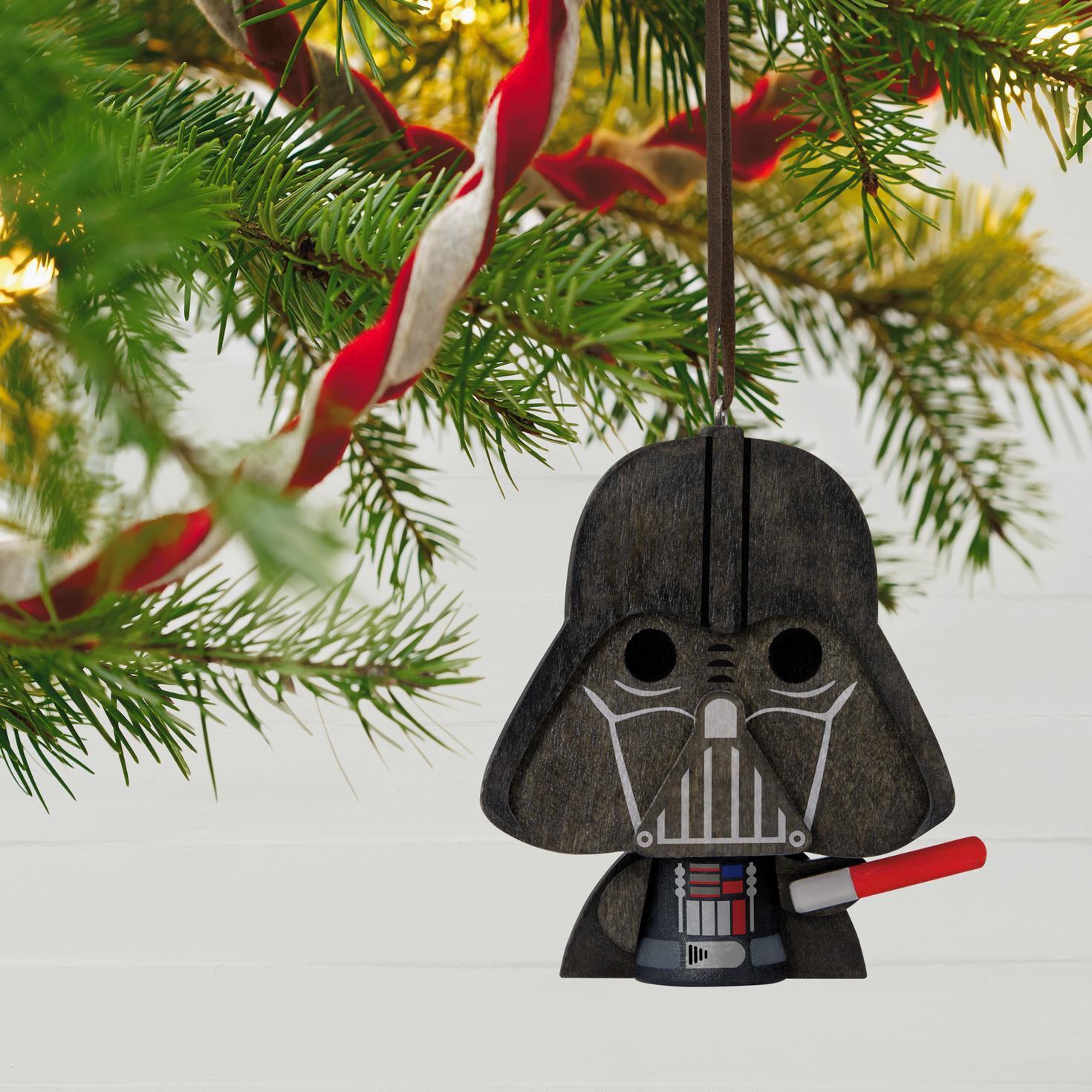 Star Wars™ Darth Vader™ Wood Ornament - Keepsake Ornaments - Hallmark