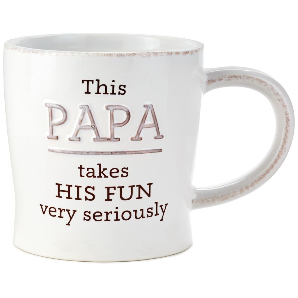 a5ddb9ed0 Papa Takes His Fun Seriously Ceramic Mug, 12 oz. - Mugs & Teacups ...
