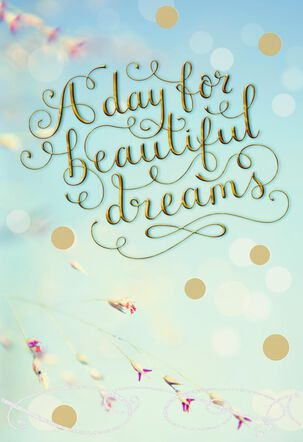 Day for Dreams Wedding Card for Daughter