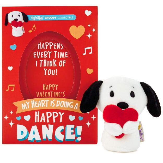 itty bittys® peanuts® snoopy valentine's day card with stuffed, Ideas