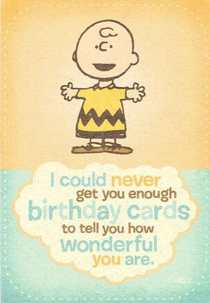 Charlie Brown and the Peanuts® Gang Birthday Card