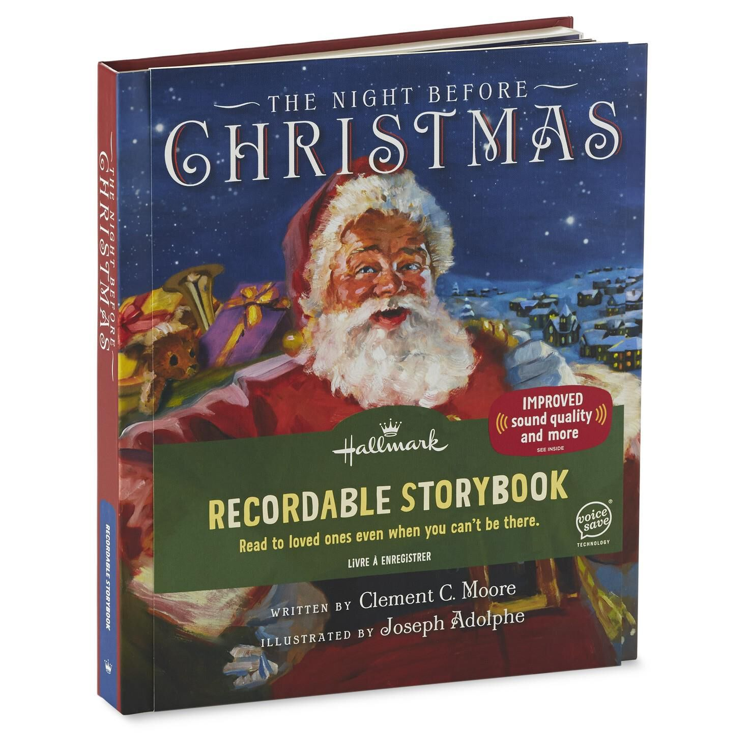 The Night Before Christmas Recordable Storybook - Recordable ...