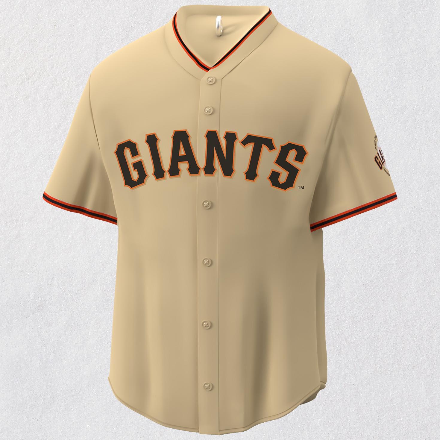 San Francisco Giants™ Jersey Ornament - Keepsake Ornaments - Hallmark