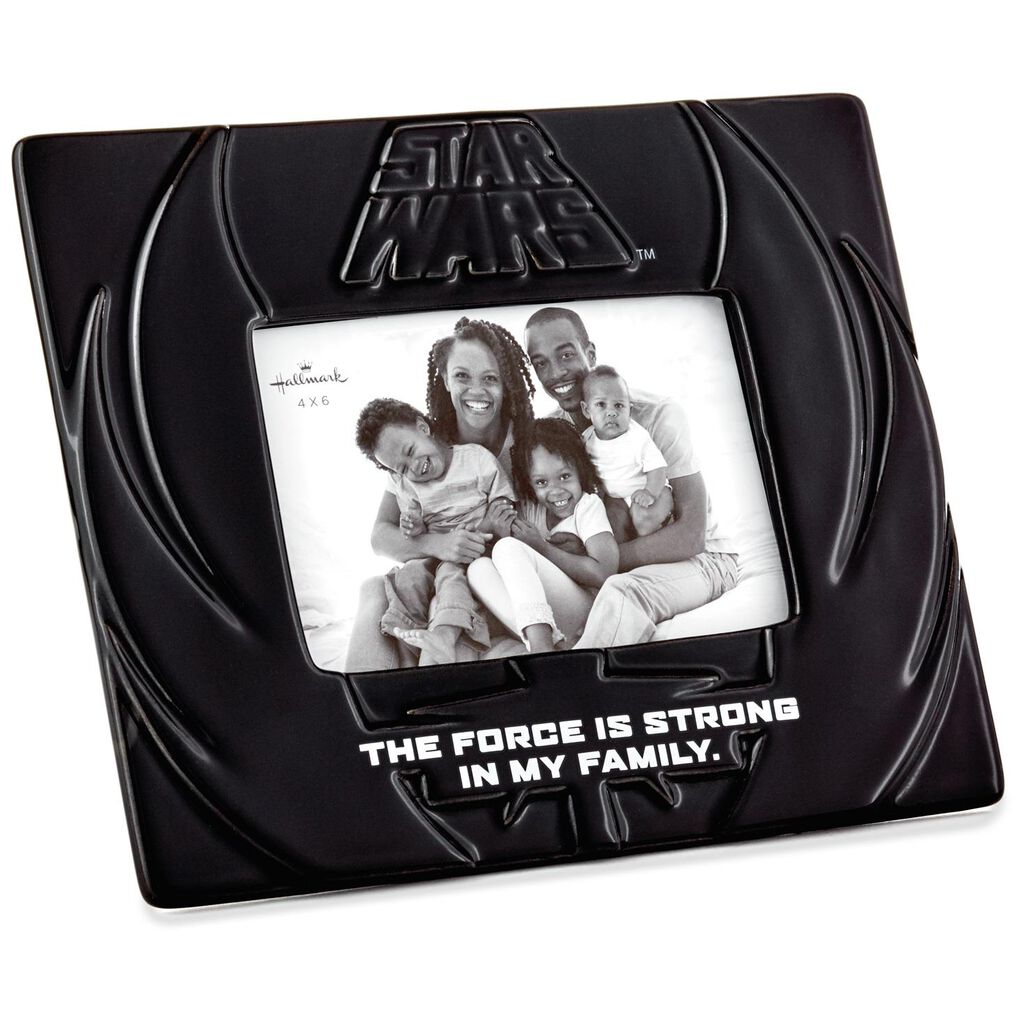 Star Wars Family Picture Frame 4x6 Picture Frames Hallmark