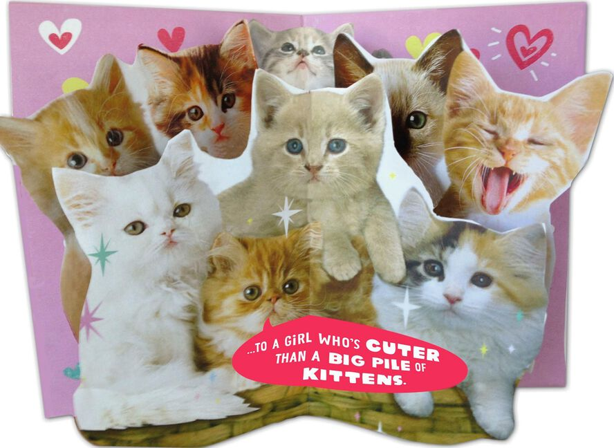 Pile Of Kittens Valentine S Day Card Greeting Cards Hallmark