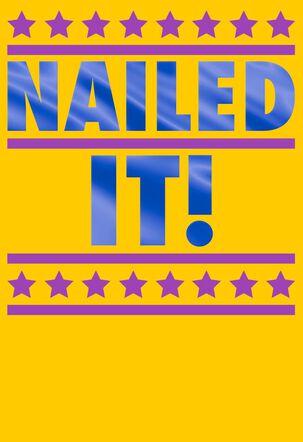 Nailed It! Congratulations Card