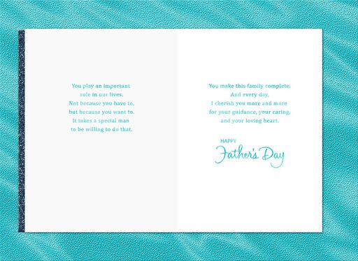 For a Special Man Father's Day Card for Husband,