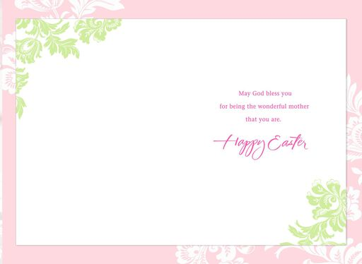 May God Bless You Easter Card for Mom,