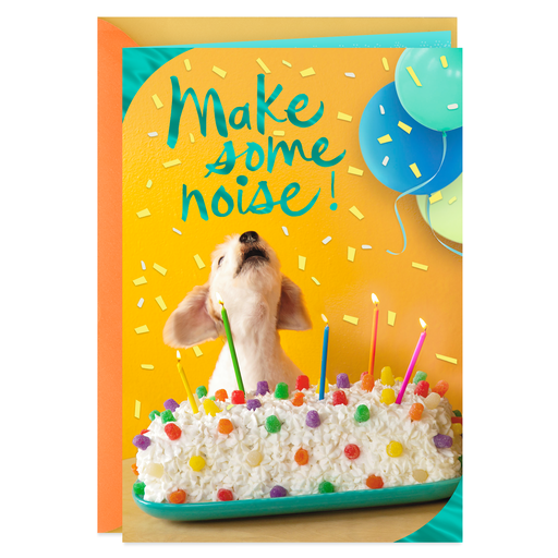 Make Some Noise Birthday Card