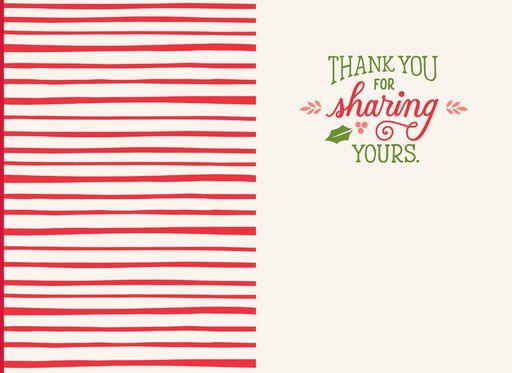 Caregiver Thank You Christmas Card,