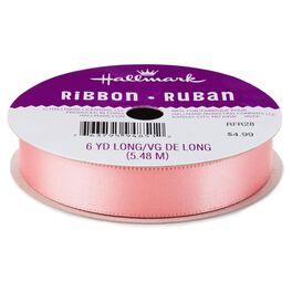"Shell Pink 5/8"" Ribbon, , large"
