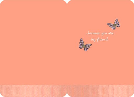 A Better Place Because of You Friendship Card,