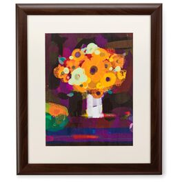 Spring Bouquet 20x24 Print With Matted Frame, , large