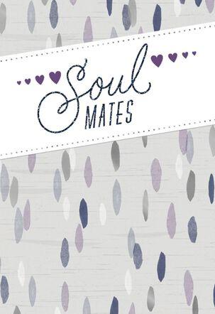 Soul Mates Anniversary Card