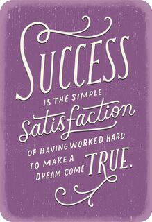 Impressed By Your Success Congratulations Card,