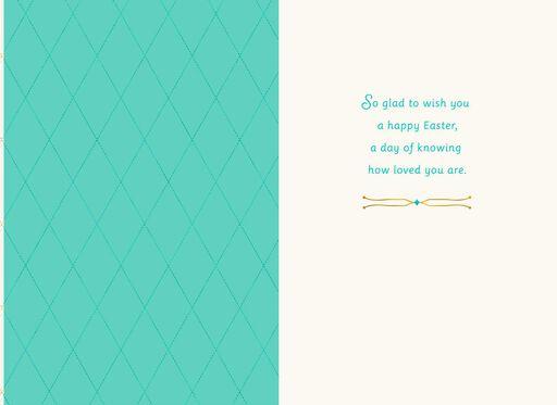 Son Gold Bunny Easter Card,