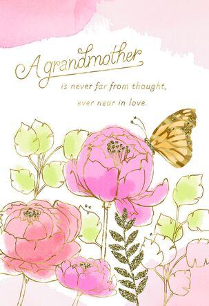 Grandma Near or Far I Love You Mother's Day Card