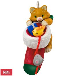 Cute Little Kitten Mini Ornament, , large