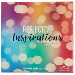 Reflective Inspirations 2018 Wall Calendar, 12-Month, , large