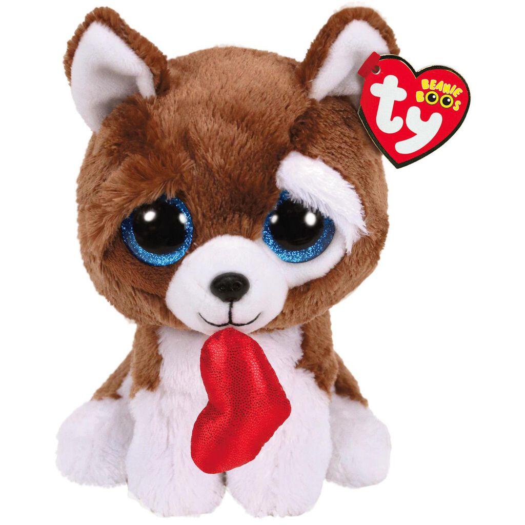 Ty Beanie Boos Smootches Dog Stuffed Animal 6 Classic Stuffed
