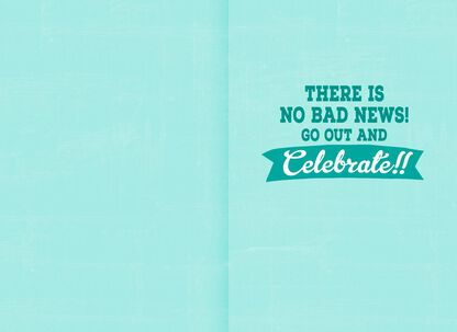 Good News Bad Funny 16th Birthday Card