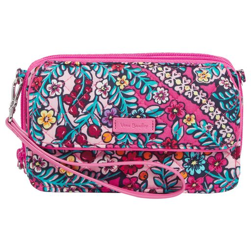 542a09e9f73d Vera Bradley Iconic RFID All in One Crossbody Purse in Kaleidoscope