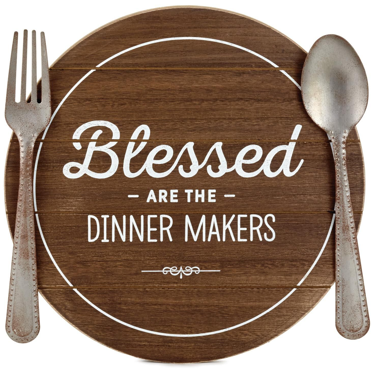 Blessed dinner makers rustic wood quote sign plaques signs blessed dinner makers rustic wood quote sign plaques signs hallmark stopboris Images