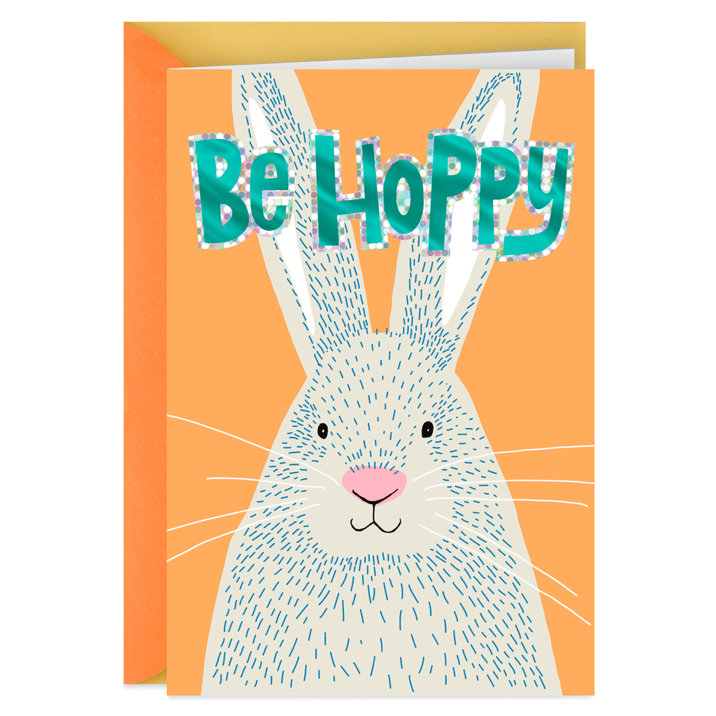 Be Hoppy Funny Easter Card for Kids - Greeting Cards - Hallmark 5bc907dfd4467