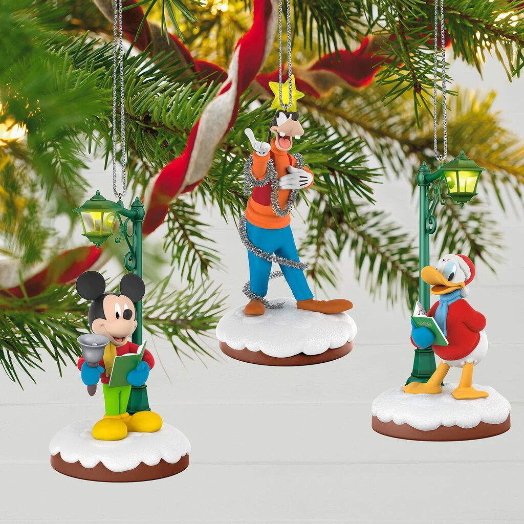 Disney Christmas Carolers Limited Edition Storytellers Ornaments ...