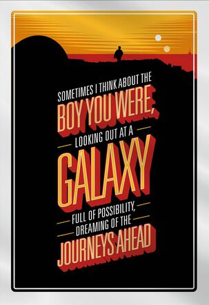 Star Wars™ Love Is the Force Father's Day Card for Son