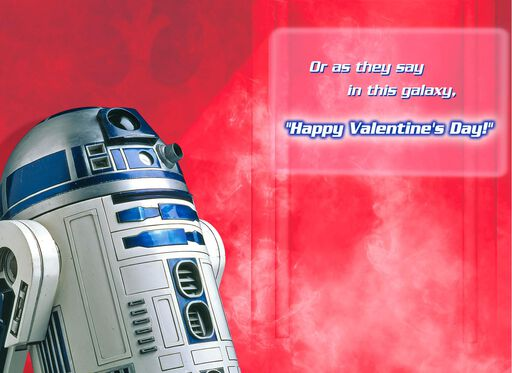 Star Wars™ R2-D2™ Musical Valentine's Day Card,