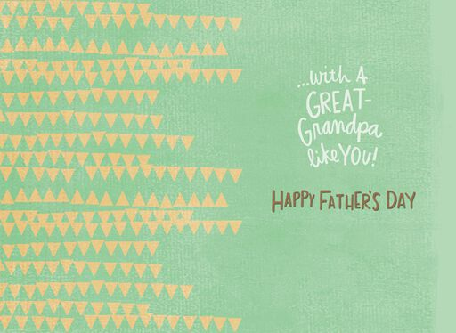 Big and Little Bear Father's Day Card for Great-Grandpa,