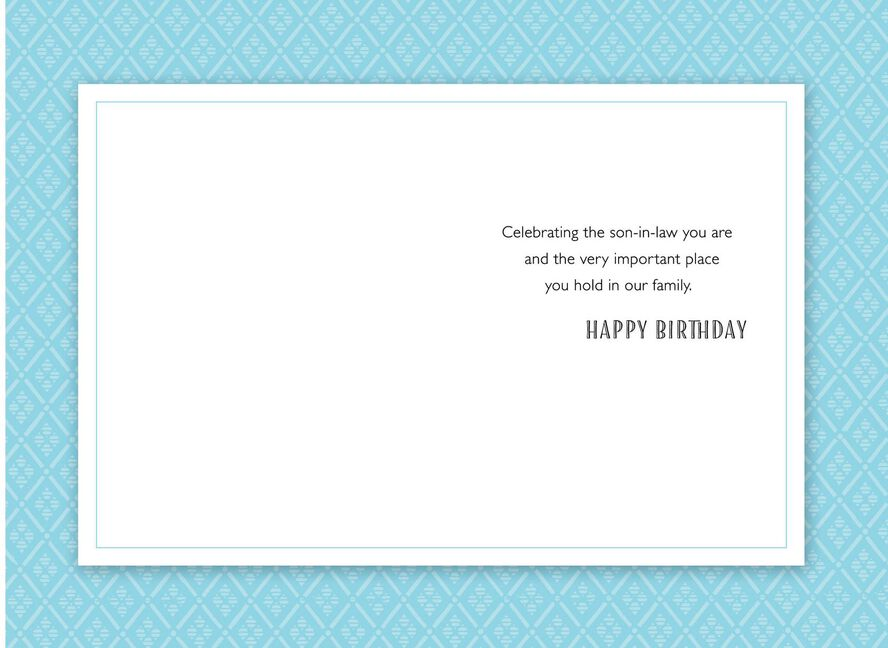 100 Original Birthday Card For Son In Law Greeting Cards Hallmark