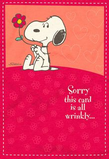 Hugs in the Mail Peanuts® Snoopy Sweetest Day Card,