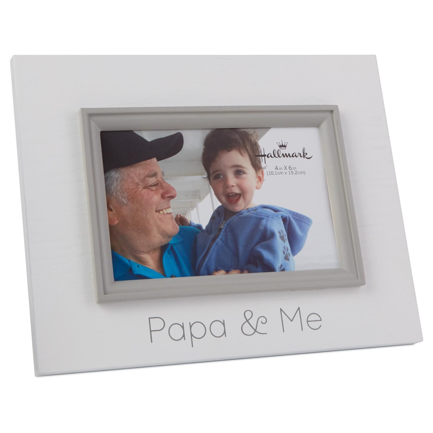papa me wood photo frame 4x6 picture frames hallmark