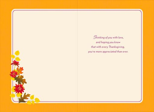 You're a Blessing Thanksgiving Card for Grandma,