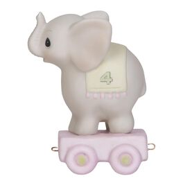 Precious Moments® May Your Birthday Be Gigantic Little Elephant  Figurine, Age 4, , large