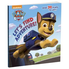 Let's Find Adventure! Paw Patrol Interactive Board Book, , large